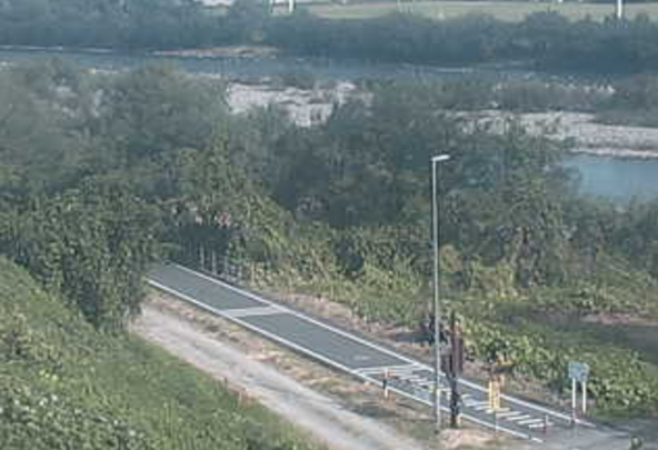 群馬県道416号利根川自転車道線ライブカメラ(群馬県前橋市総社町)