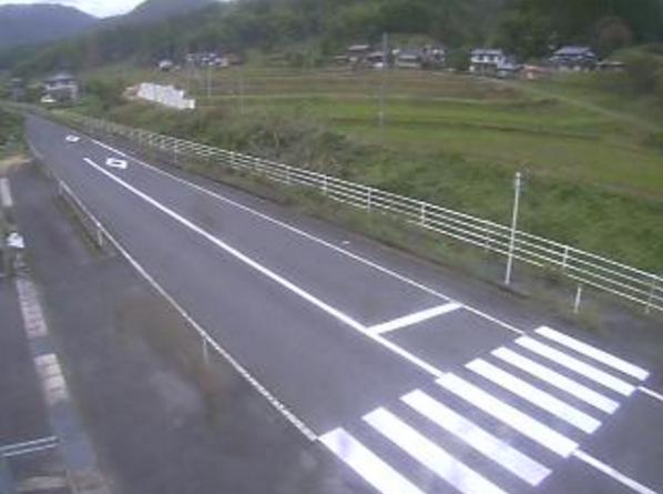鳥取県道46号日野溝口線上代ライブカメラ(鳥取県伯耆町福岡)