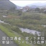 新袋川宮ノ下ライブカメラ(鳥取県鳥取市国府町)