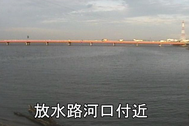 豊川放水路河口ライブカメラは、愛知県豊橋市前芝町の放水路河口に設置された豊川放水路が見えるライブカメラです。