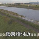 豊川放水路篠束橋ライブカメラ(愛知県豊橋市大村町)