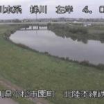 梯川梯川鉄橋ライブカメラ(石川県小松市園町)