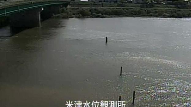 KATCH矢作川米津橋ライブカメラは、愛知県西尾市米津町の米津橋(米津水位観測所)に設置された矢作川が見えるライブカメラです。