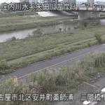 矢田川三階橋下流ライブカメラ(愛知県名古屋市北区)