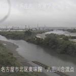 庄内川八田川合流点ライブカメラ(愛知県名古屋市北区)