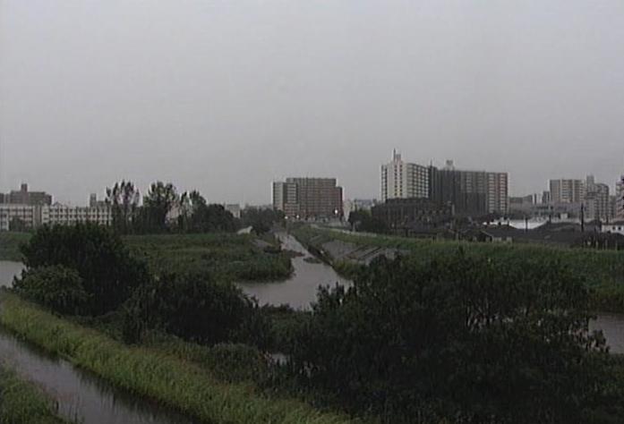 天白川藤川合流ライブカメラは、愛知県名古屋市南区の藤川合流に設置された天白川が見えるライブカメラです。