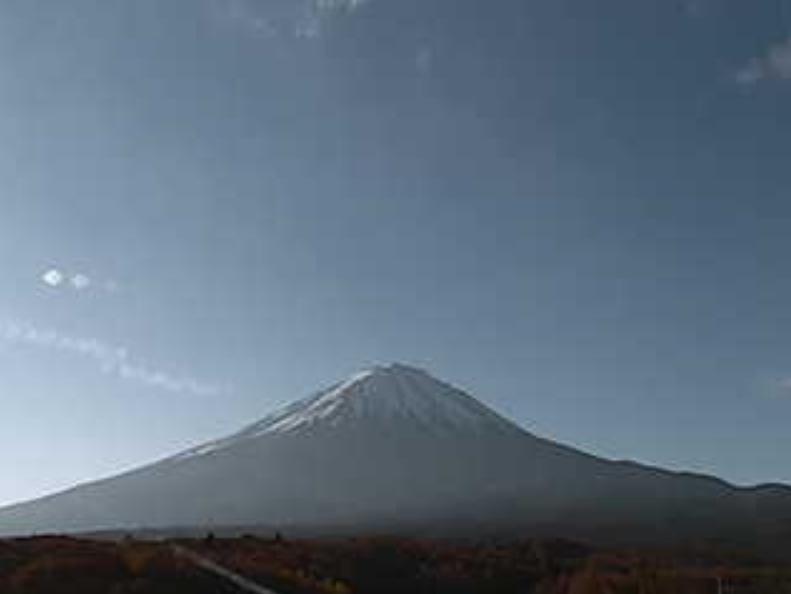 鳴沢村役場富士山ライブカメラ(山梨県鳴沢村)