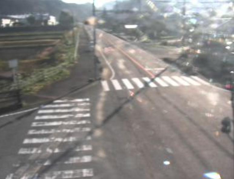 国道191号仙道ライブカメラ(島根県益田市美都町)