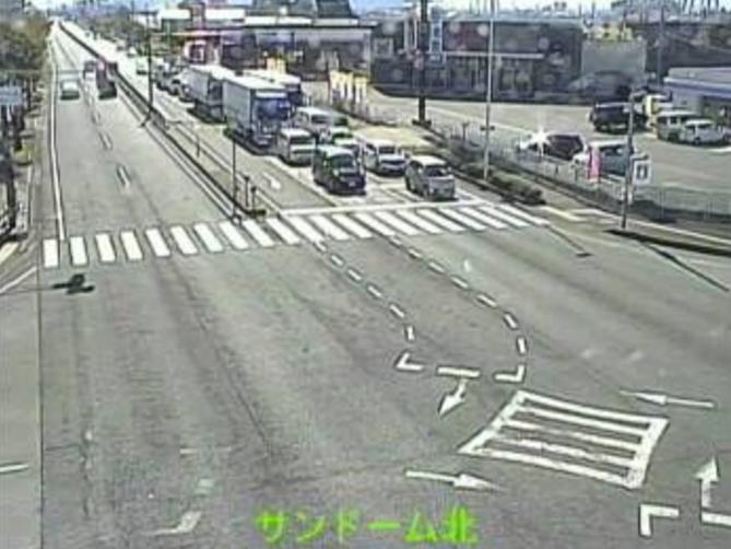国道8号宮前ライブカメラ(福井県鯖江市宮前)