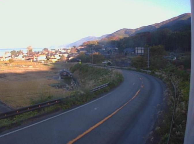 福井県道204号大谷杉津線大比田ライブカメラ