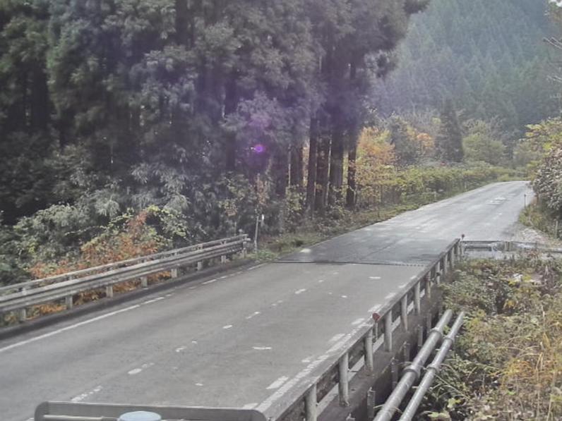 国道186号筒賀ライブカメラ(広島県安芸太田町上筒賀)
