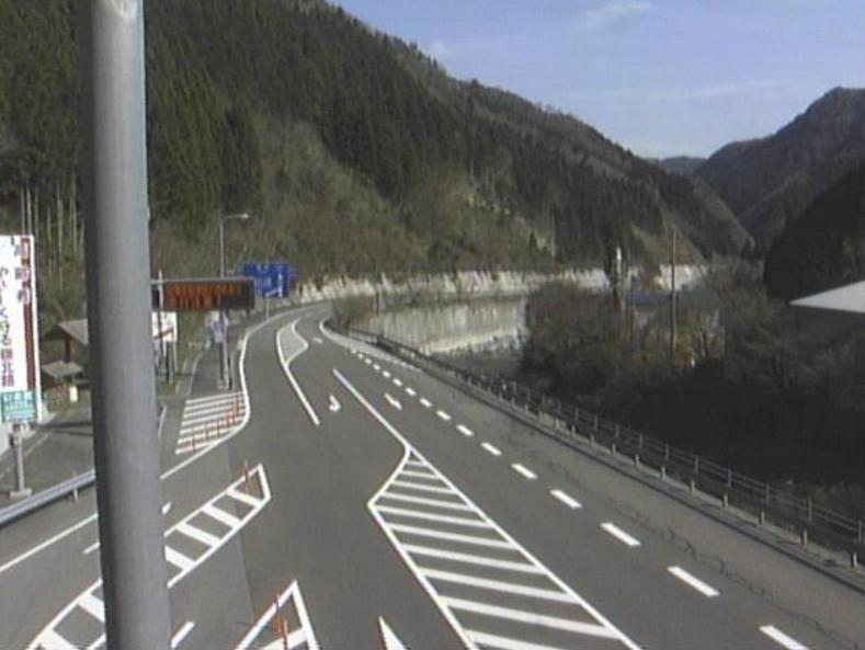 国道194号新寒風山トンネル長沢方向ライブカメラ(高知県いの町桑瀬)