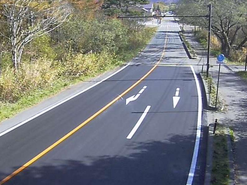 国道459号五色沼入口第2ライブカメラは、福島県北塩原村桧原の五色沼入口に設置された国道459号が見えるライブカメラです。
