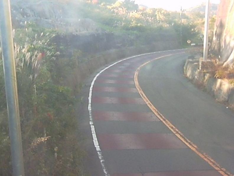国道115号大波ライブカメラ(福島県福島市大波)