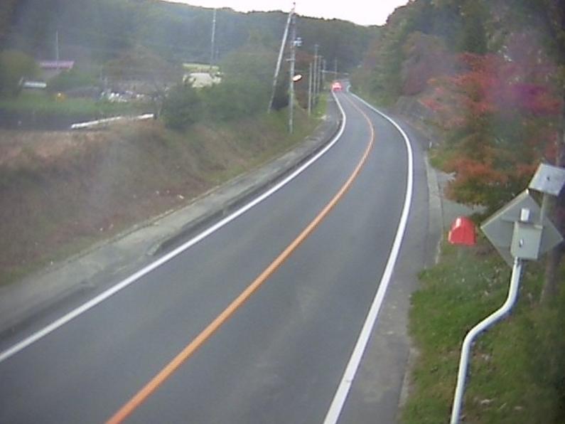 国道349号大越町栗出第2ライブカメラは、福島県田村市の大越町栗出に設置された国道349号(磐城街道)が見えるライブカメラです。