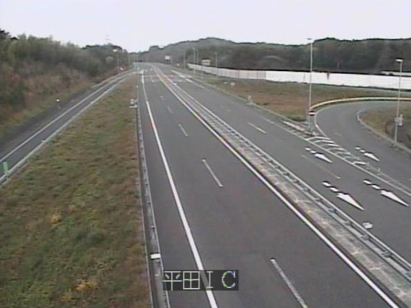 あぶくま高原道路平田インターチェンジライブカメラは、福島県平田村上蓬田の平田インターチェンジ(平田IC)に設置されたあぶくま高原道路(あぶくま高原自動車道)・福島県道42号矢吹小野線が見えるライブカメラです。