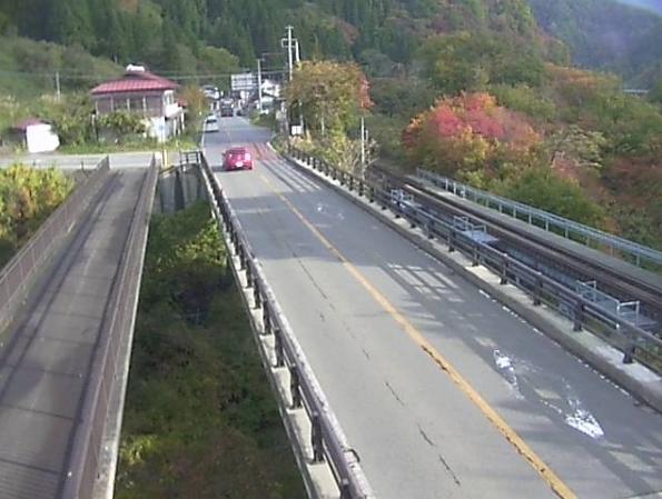 国道121号湯野上橋ライブカメラ(福島県下郷町湯野上)
