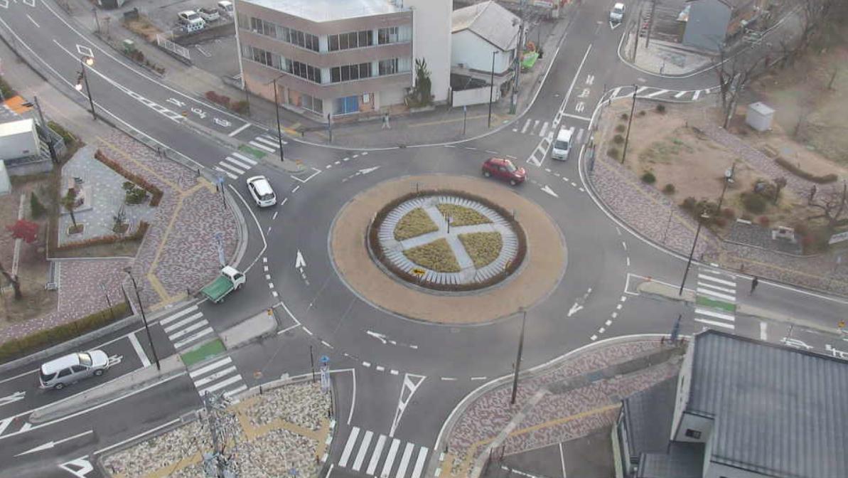 東和町ラウンドアバウトライブカメラ(長野県飯田市東和町)