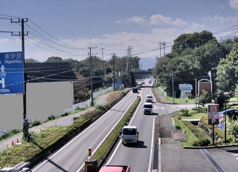 国道135号伊豆高原ライブカメラ(静岡県伊東市玖須美元和田)
