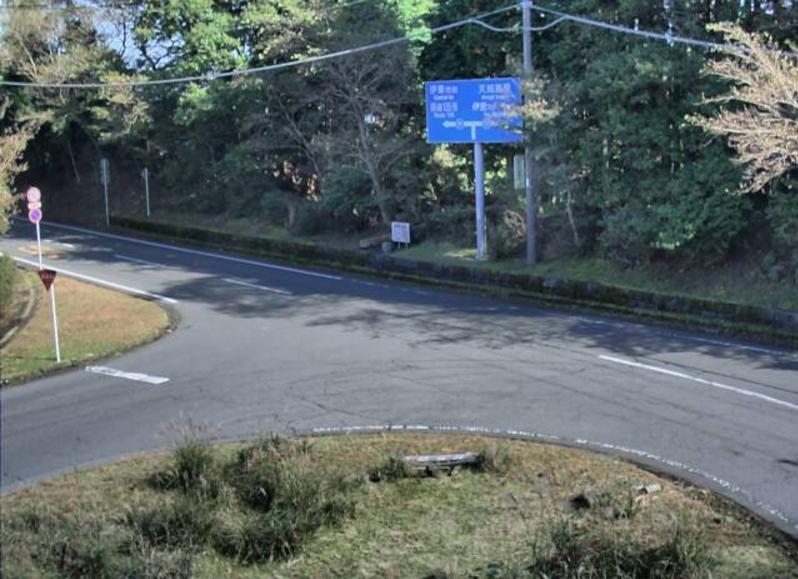 静岡県道111号遠笠山富戸線鹿路庭峠ライブカメラは、静岡県伊東市池の鹿路庭峠(豆州ろくろば村付近)に設置された静岡県道111号遠笠山富戸線が見えるライブカメラです。