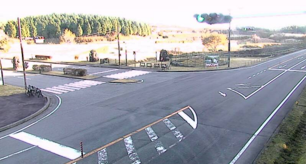 国道469号富士山こどもの国入口ライブカメラ(静岡県富士市桑崎)