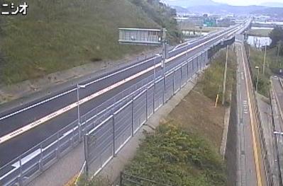 国道485号西尾ライブカメラは、島根県松江市西尾町の西尾に設置された国道485号(松江だんだん道路)・縁結び大橋付近橋北側が見えるライブカメラです。