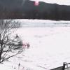 【冬期限定】タンチョウ観察センタービオトープライブカメラ(北海道釧路市阿寒町)