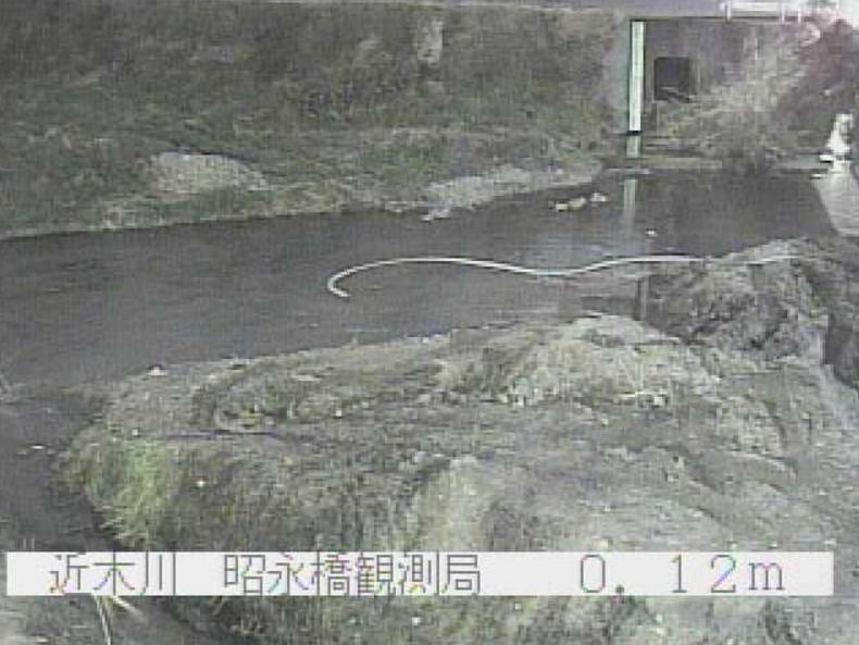 近木川昭永橋ライブカメラ(大阪府貝塚市浦田)