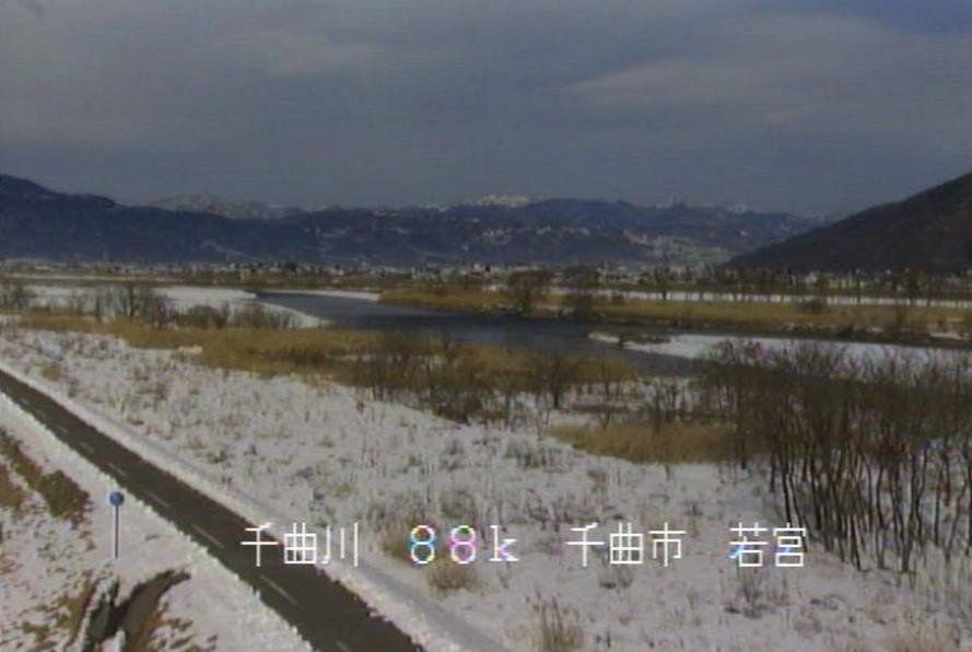 千曲川若宮ライブカメラ(長野県千曲市若宮)
