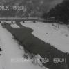 根知川合流点ライブカメラ(新潟県糸魚川市根小屋)