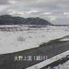 姫川大野上流ライブカメラ(新潟県糸魚川市大野)