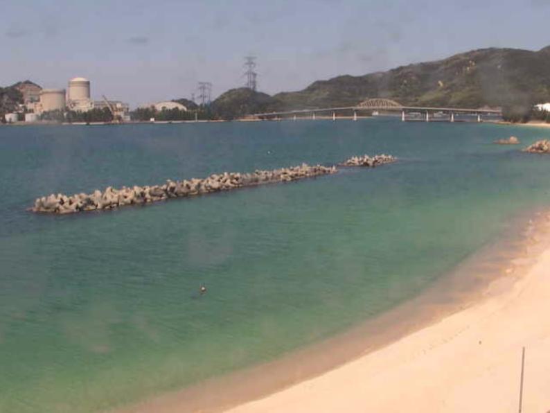 水晶浜海水浴場ライブカメラ(福井県美浜町竹波)
