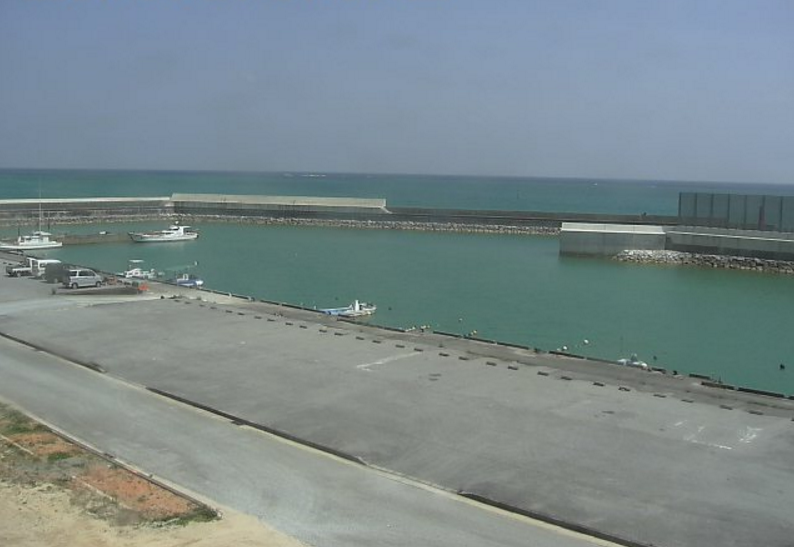 東村東漁港ライブカメラ(沖縄県東村)