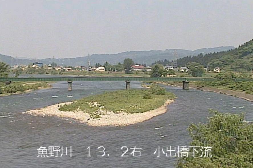 魚野川袖八排水機場ライブカメラ(新潟県魚沼市四日町)