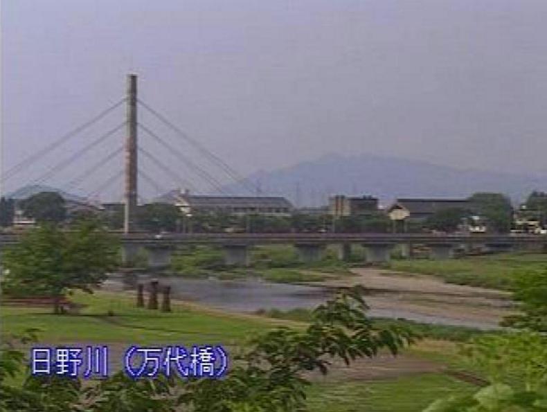 日野川万代橋ライブカメラ(福井県越前市堀川町)