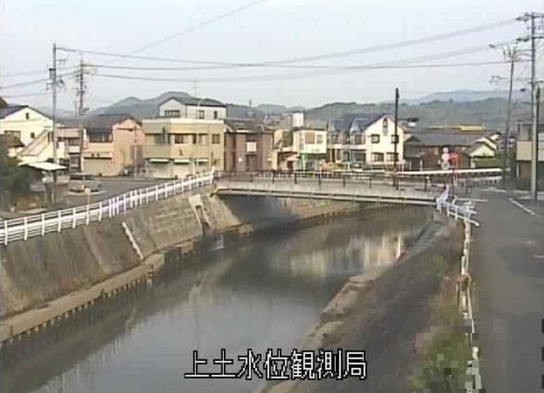 巴川上土水位観測局ライブカメラ(静岡県静岡市葵区)