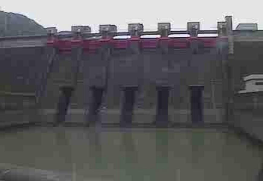 日高川椿山ダム下流側ライブカメラ(和歌山県日高川町初湯川)
