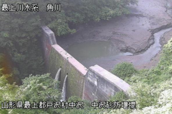 角川中沢ダムライブカメラ(山形県戸沢村中沢)