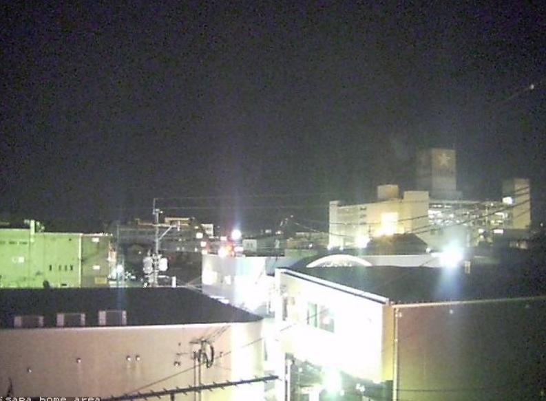 日向市上空天気ライブカメラ(宮崎県日向市上町)
