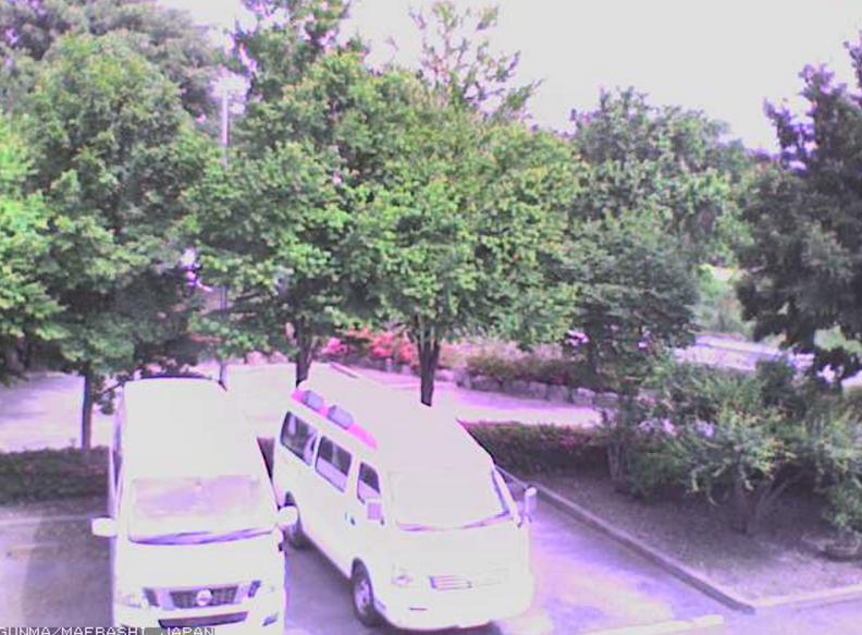 育恵会鍋割山方向ライブカメラ(群馬県前橋市市之関町)