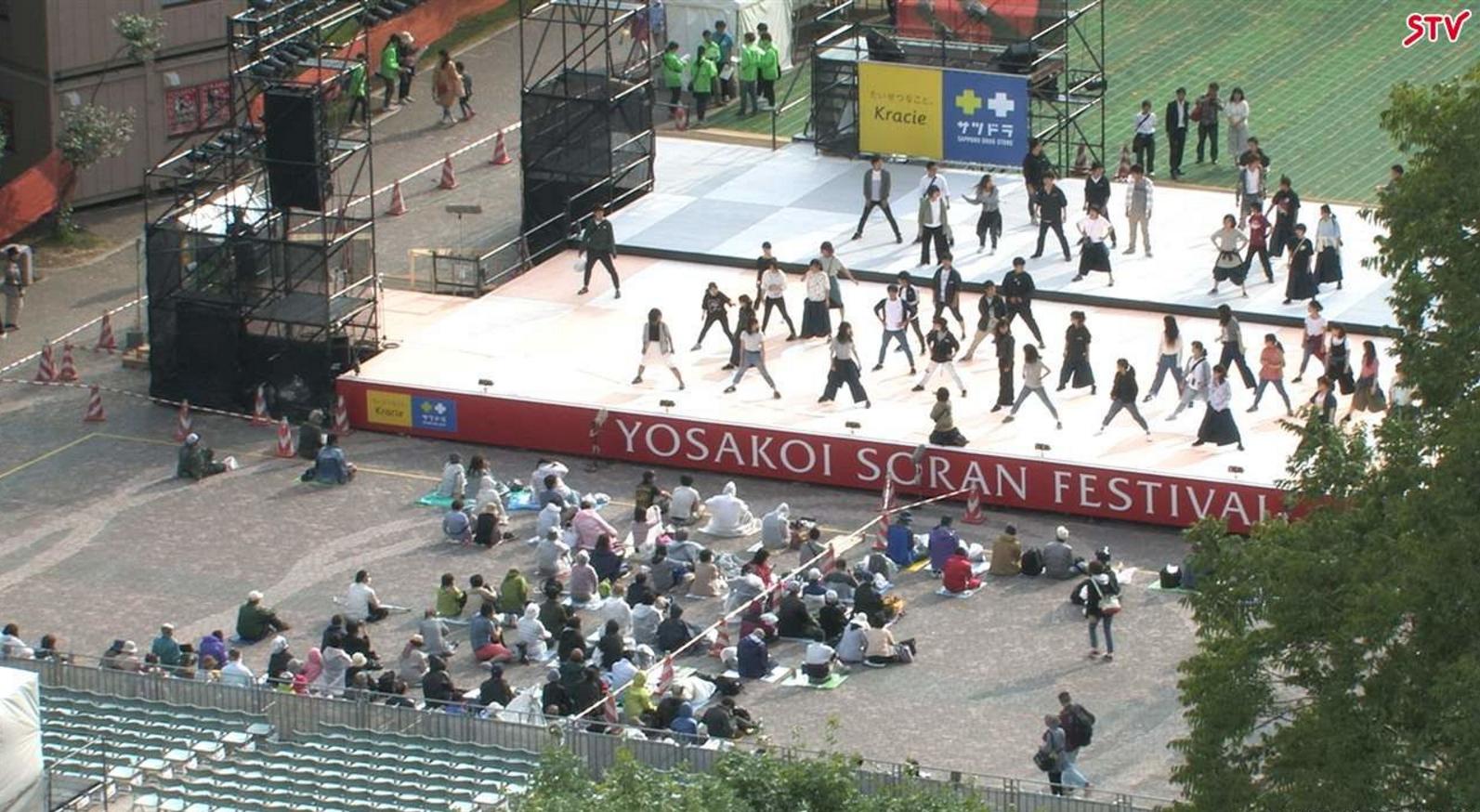 よさこいソーラン祭り大通公園西8丁目会場ライブカメラ(北海道札幌市中央区)
