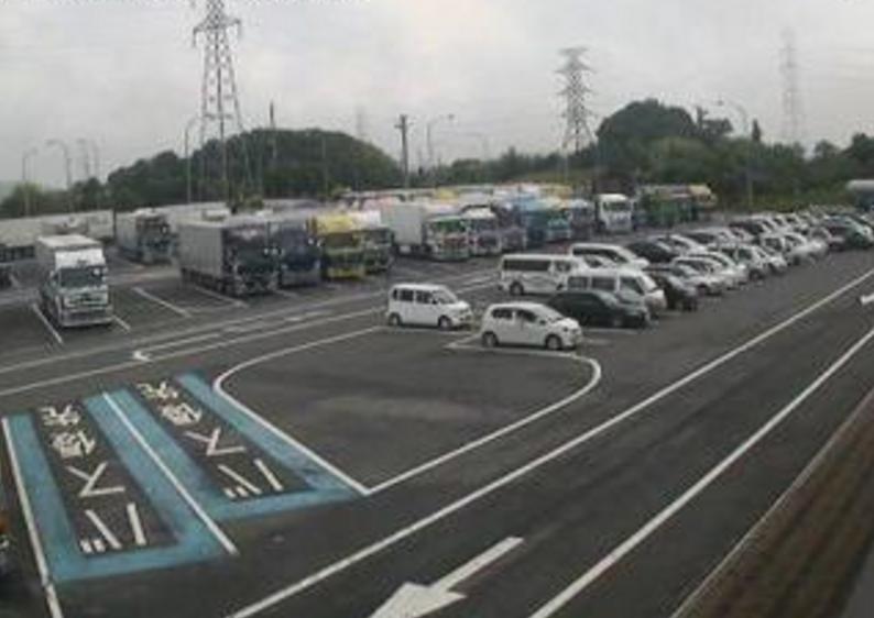 山陽自動車道淡河パーキングエリア下りライブカメラ(兵庫県神戸市北区)
