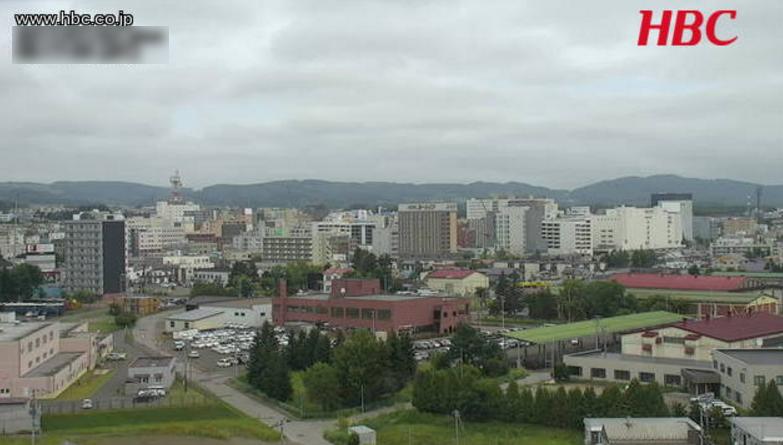 HBC北見ライブカメラ(北海道北見市中ノ島町)