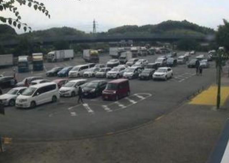 九州自動車道広川サービスエリア上りライブカメラ(福岡県広川町新代)