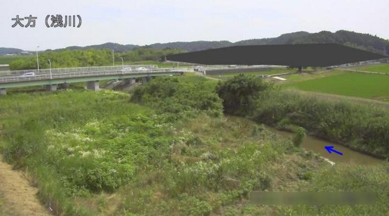 浅川大方ライブカメラ(茨城県常陸太田市大方)