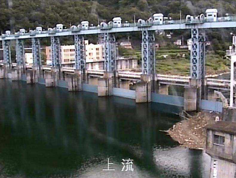 池田ダム上流ライブカメラ(徳島県三好市池田町)