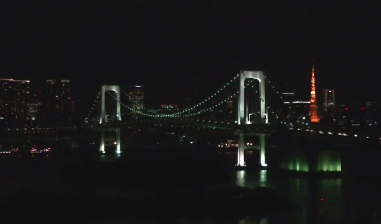 フジテレビお台場ライブカメラは、東京都港区台場のフジテレビに設置されたお台場・レインボーブリッジ・東京タワーが見えるライブカメラです。