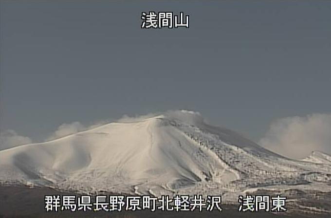 浅間山東側ライブカメラ(群馬県長野原町北軽井沢)
