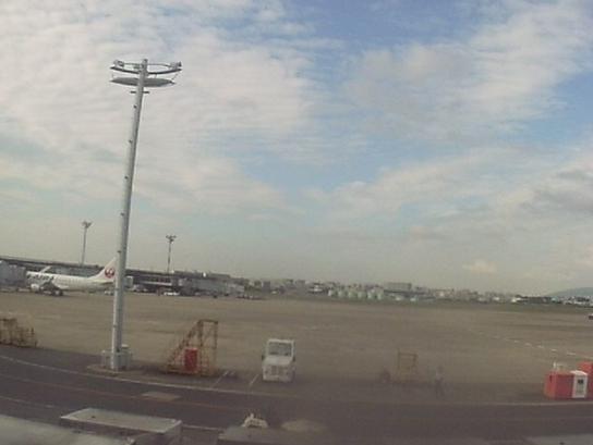 大阪国際空港(伊丹空港)から空港滑走路・駐機場