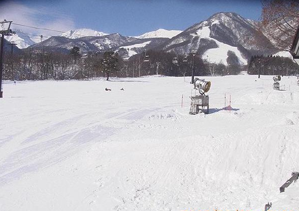 カントリージョーから栂池高原スキー場親の原ゲレンデ